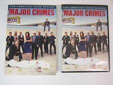 Major Crimes: The Complete Third Season (DVD, 2015, 4-Disc Set) FREE SHIPPING