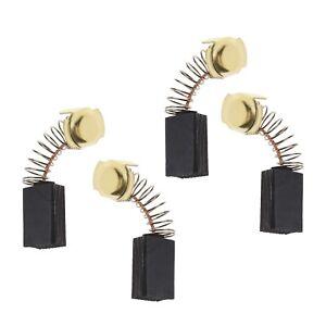 Carbon Motor Brushes 7mmx11mmx17/18.5mm For DeWalt 514003-43 Pack of 4