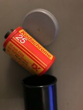 Kodachrome 25 135-36 - 35MM - 25 ASA .A Bag of 14 rolls in the cans