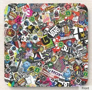 Skateboard Sticker - Drinks Coaster