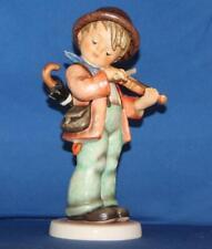 "Tall Hummel Goebel Little Fiddler 7.75"" Figurine Boy Playing Violin TMK7"