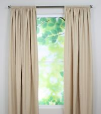 Chooty Rod Pocket Curtain Panel, 54 by 96-Inch, Debutante Bisque