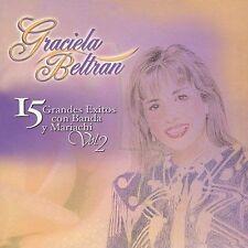 Graciela Beltran : 15 Grandes Exitos Con Banda Y Mariachi, CD