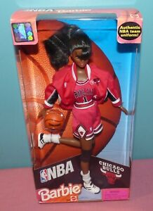 NBA Barbie - Chicago Bulls, New In Box (some damage), No. 20693 African American