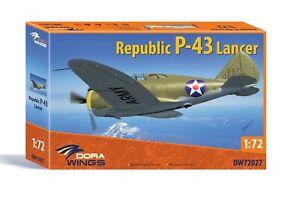 1/72 Republic P-43 Lancer (DW72027)- NEW Dora wings!