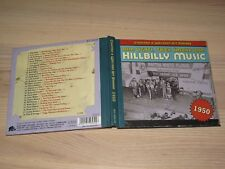 Country & Western Hit Parade 1950 CD - Hillbilly Music / Bear Family in Mint