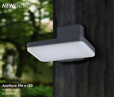 Applique rettangolare a LED per pareti esterne 8W Luce Fredda