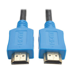 Tripp Lite High-Speed Audio Video HDMI Male to HDMI Male Cable 10FT - Black Blue