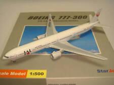 """Starjets 500 Japan Airlines JAL B777-300 """"1990s color"""" 1:500"""