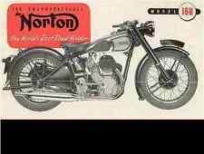 Norton 16 H Big 4 Es 2 Maintenance Repair Manuals - Motorcycle Operation Service