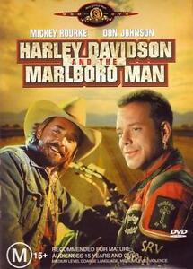 Harley Davidson And The Marlboro Man (DVD, 2007) Mickey Rourke, Tom Sizemore R4