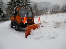 Schneepflug Schneeschild Räumschild für Multicar, 2 Schwenkzylinder 2,4m