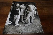THE BEATLES - Mini poster Noir & blanc 2 recto verso !!!!!!!!!!!!!!!