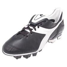 Diadora Brasil Axeler RTX 14 Black/White Soccer Sz 4