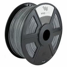 WYZworks 3D Printer Premium ABS Filament 1.75mm 1kg/2.2lb - LIGHT GRAY
