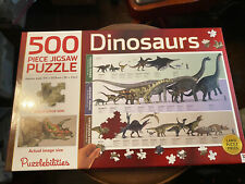 Puzzlebilities Hinkler DINOSAURS Jigsaw Puzzle 500 Pieces Complete