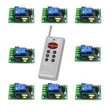 30A/AC110-220 Volt Self-locking 315MHz RF  Remote Control Electric Switch System
