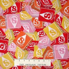 Candy Fabric - Packed Rainbow Starburst - Springs YARD