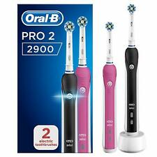 Oral-B Pro 2 2900 Duo Pack Cross-Action Two Modes Electric Toothbrush