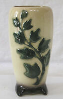 """Vintage Royal Copley Embossed Green Climbing Ivy Vase ( 7"""" Tall )"""