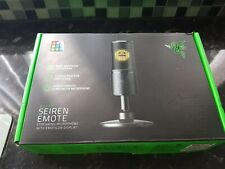 Razer Seiren Emote - Microphone with Emoticons brand new