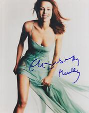 ELIZABETH HURLEY HAND SIGNED 8x10 PHOTO 2000 DGA FILM PREMIERE IPA NETWORK COA