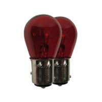 LAMPADINE A FILAMENTO PR 21/5W ROSSO BAW15D 12V 21/5W LAMPADE AUTO