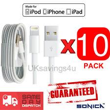 10 Usb Sync & Cargador datos Cable De Plomo Para Apple Iphone 6 5c/s Ipad 4 Aire Mini