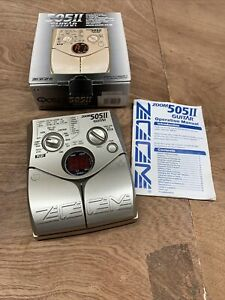 Zoom 505 ii guitar multi-effects unit, programmable/editable Never Used