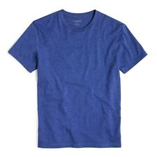 J Crew Men's Heathered Washed T-Shirt Size: XXL 2XL Fairmont Blue No Pocket
