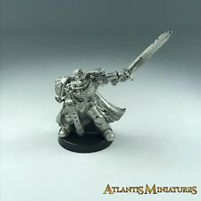 Metal Space Marine Captain - Warhammer 40K X1332