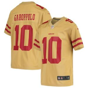 Jimmy Garoppolo San Francisco 49ers Nike Youth Inverted Gold Game Jersey