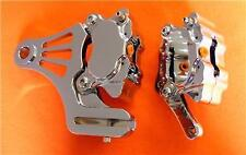 Chrome Left Motorcycle Brake Callipers & Parts