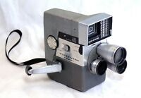 WOLLENSAK Eye Matic 46 Vintage Film Movie Camera TURRET Cine Raptar lens USA