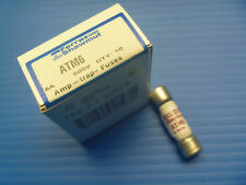 Ferraz Shawmut ATM6 Amp-Trap Midget Fast-Acting ATM Fuse 600V - Box of 10