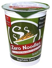 Zero Noodles Vegetable Curry Snack Pot 230g (Pack of 6)