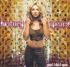 BRITNEY SPEARS Oops! I Did It Again CD Album Jive 9220392 2000