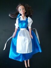 Disney My Favorite Fairytale Barbie Doll Belle Beauty & the Beast Blue w/ Apron