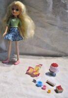 Moxie Girlz Avery Doll Baker Patissiere Lot