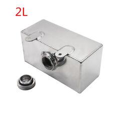 Universal Aluminum Car Windscreen Washer Can Intercooler Spray Reservoir Tank 2L