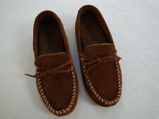 MINNETONKA Men's tan suede driving shoes - Sz US 9 / UK 8.5 BNwoT