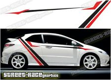 Honda Civic 030 racing stripes graphics stickers decals Type R S Sport
