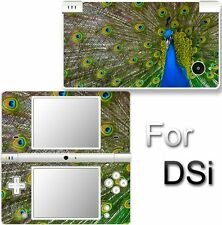 Peacock Feather Pet SKIN STICKER DECAL for NINTENDO DSi