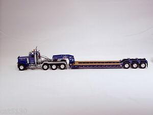 "Peterbilt 379 Truck w/ 3 Axle Rogers Lowboy Trailer - ""RICH'S"" - 1/50 - WSI"