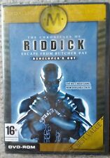 THE CHRONICLES OF RIDDICK ESCAPE FROM BUTCHER BAY PC DVD-ROM GAME new & sealed