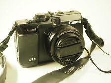 Canon PowerShot G1X 14.3 MP Digitalkamera - Schwarz u. Weitwinkel-Konverter 0,75