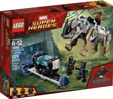 NEW BLACK PANTHER SUPER HEROES  LEGO SET 76099 RHINO FACE-OFF BY THE MINE
