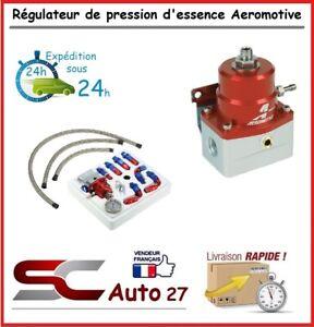 Régulateur de pression d'essence kit pro avec durite renforcé réglable