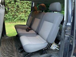 vw transporter t5 rear seats 2+1