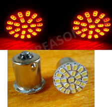 LED 22 SMD RED INDICATOR BULB FOR bikes ALL MODEL 2 PIECES